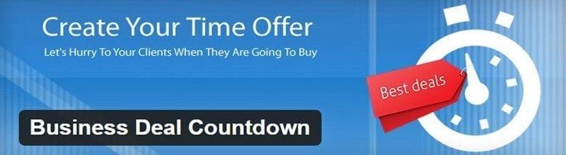 Business-Deal-Countdown-plugin