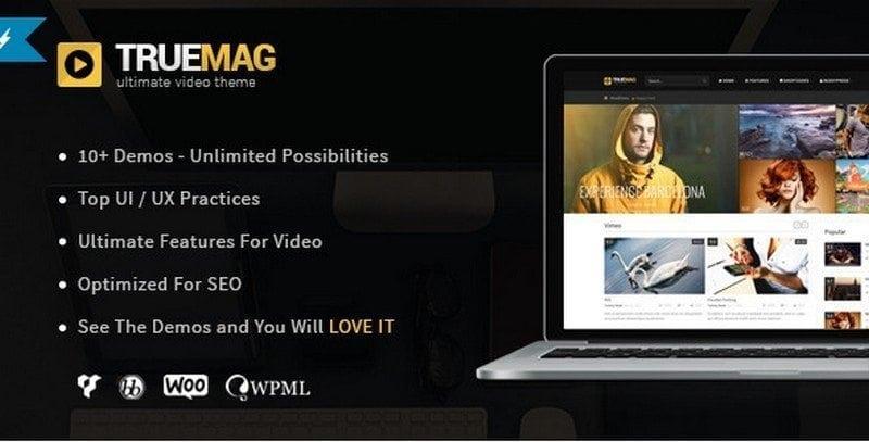truemag video theme