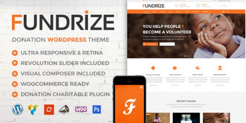 fundraizing-theme-wordpress