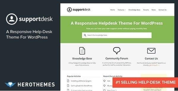 helpdesk-website-template