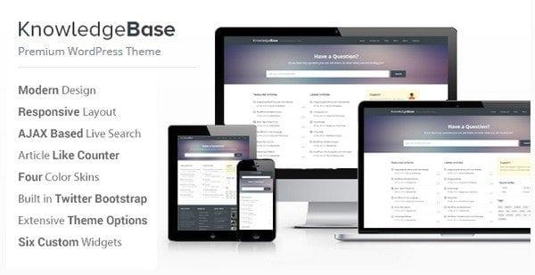 knowledge-database-website-template