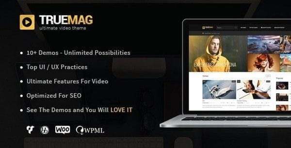 video-website-template