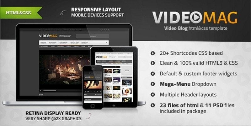 videomag video theme