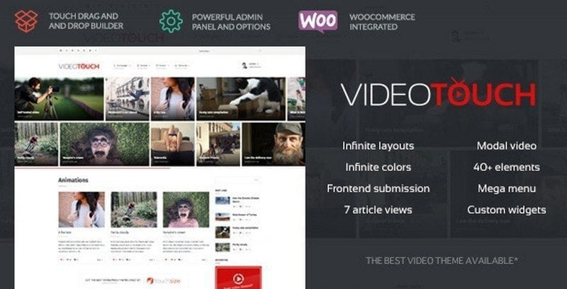 videotouch video theme