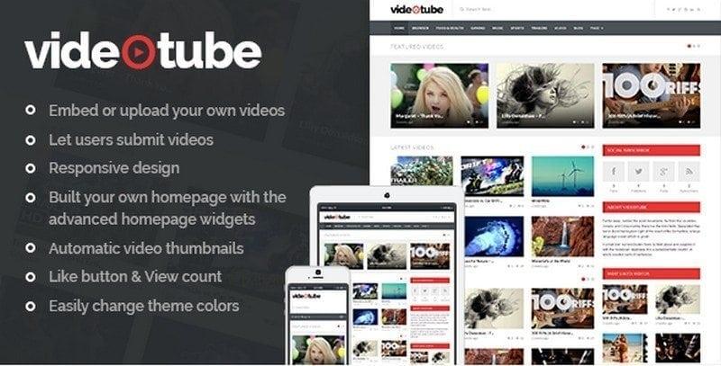 videotube video theme
