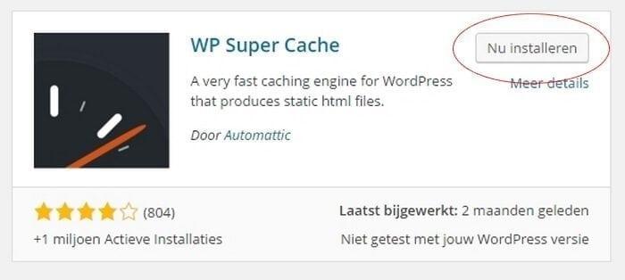 WordPress-plugin-nu-installeren