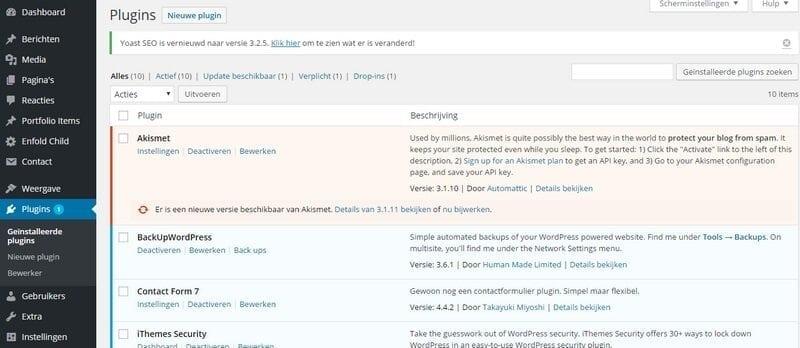 plugins-update-WordPress
