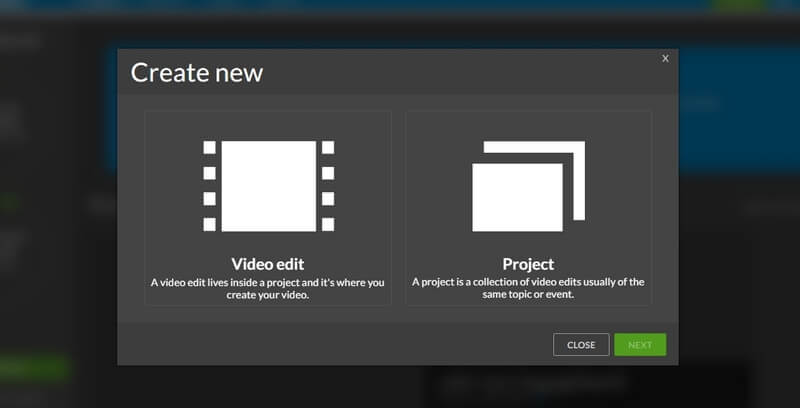 create-new-project-wevideo