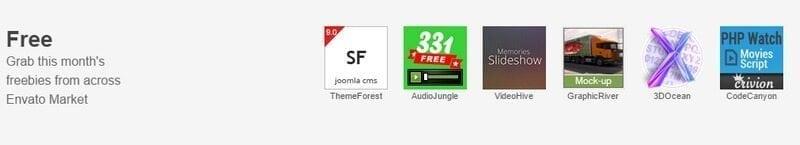 free-items-themeforest