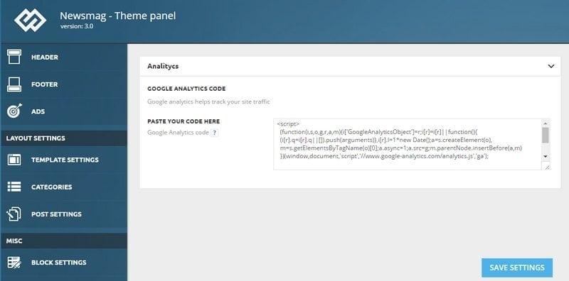 google-analytics-code-plaatsen-in-theme
