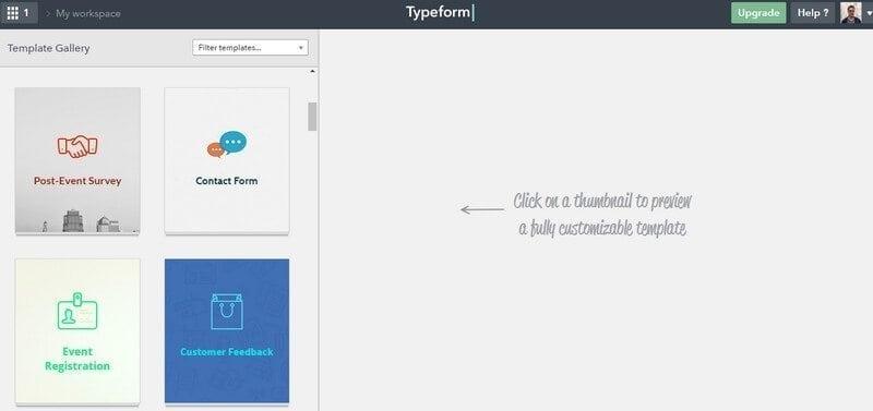 typeform-templates
