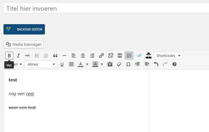 html-element-in-een-website