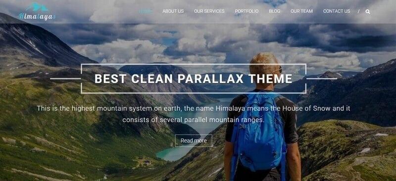 himalayas free wordpress theme
