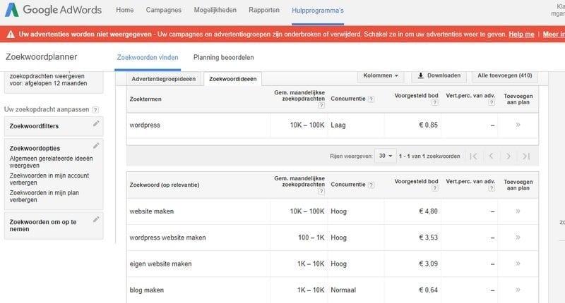 zoekwoordenplanner-van-Google
