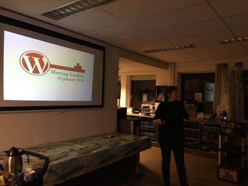 wordpress meetup bijeenkomst
