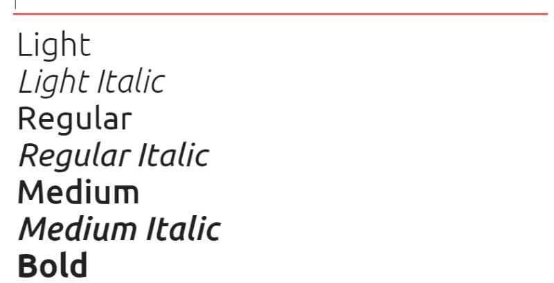 lettertype-ubuntu