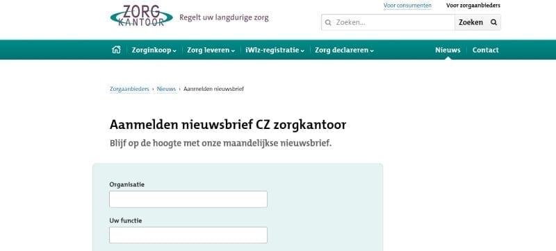 nieuwsbrief-formulier-werkt-niet