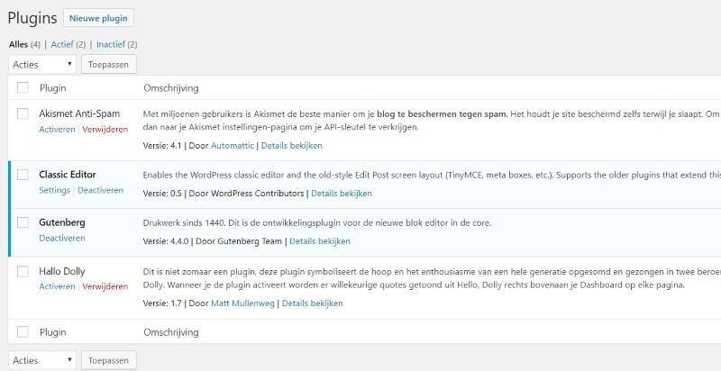 klassic-plugin-and-gutenberg-plugin-use