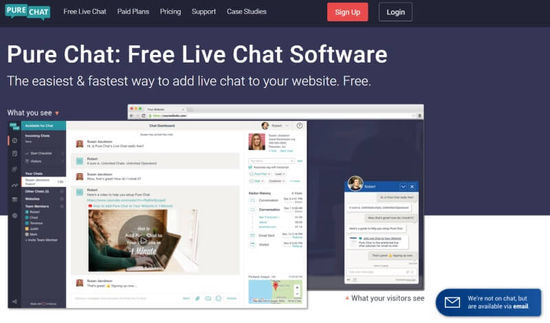 Chat login online Live chat