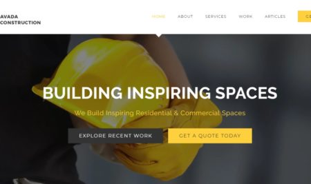These are the 5 best construction website templates for WordPress