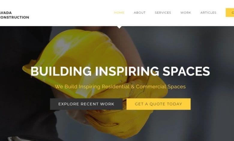 besgte construction wordpress themes