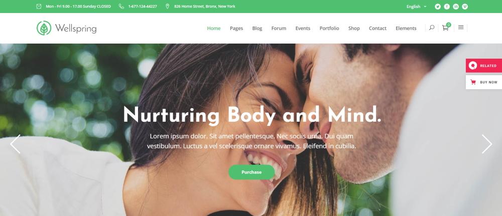 website template voor leefstijlcoaches